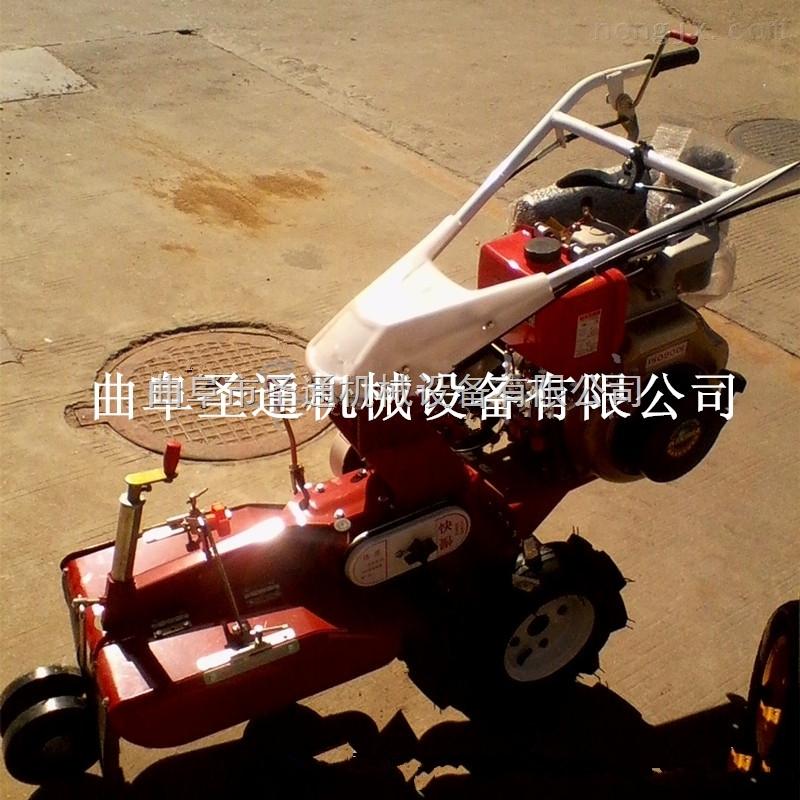 四驱差速器开沟培土机 配置齐全大棚开沟机