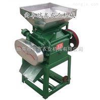 荞麦燕压挤扁机 五谷杂粮粉碎机 小型立式对辊挤扁机