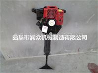 广西热销挖树机 断根起球机 手提式挖树机订购中