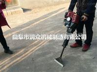 铲头挖树机厂家 中德合资挖树机 链条导板起苗机