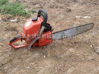 进口发动机挖树机 便携式挖树机 硬土质刨树机