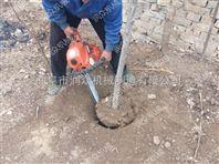 冻土切割机 小型断根挖树机 铲头式起球机