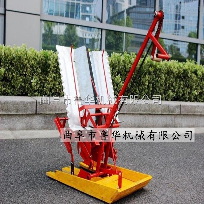 手搖兩行水稻插秧機 專業水稻種植機 效率快插秧機