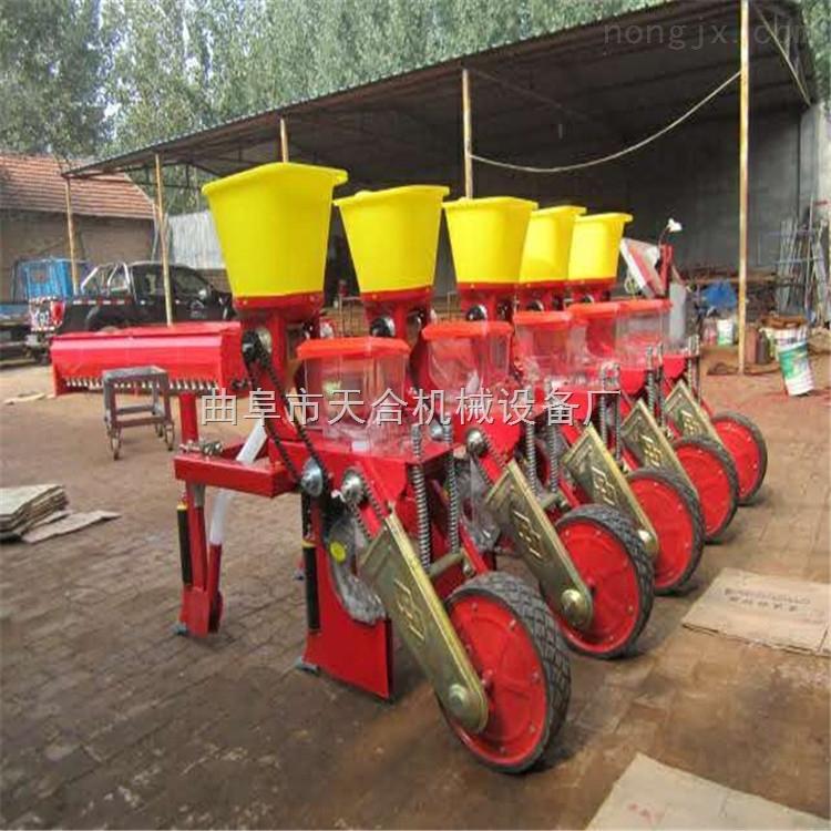 厂家直销玉米播种机 三行精密玉米播种机 播种施肥玉米播种机