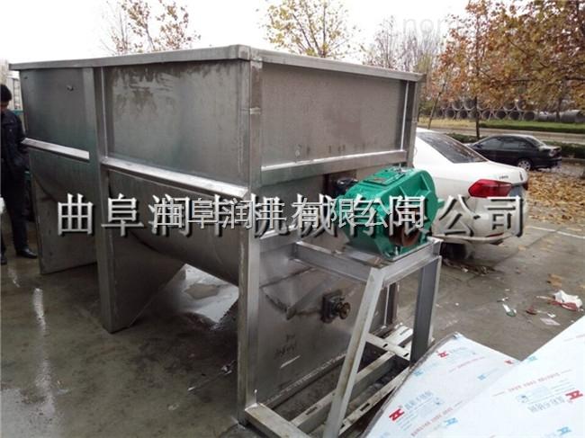 饲养场用草粉混料机 持久耐用电动搅拌机