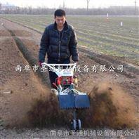 羊肚菌开沟培土机 挡泥板可调自走式开沟机