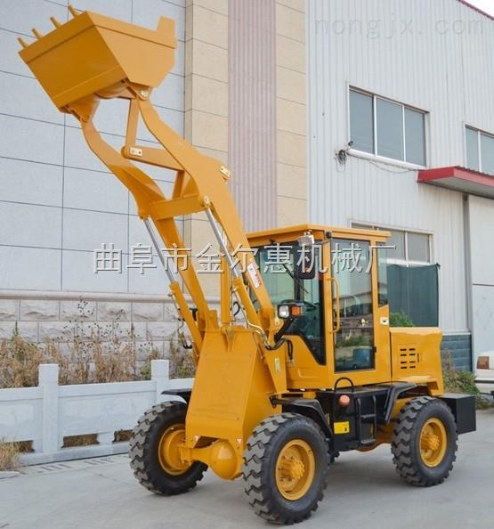 05-全新小型装载机价格 轮式工地上料装载机 农场抓木机