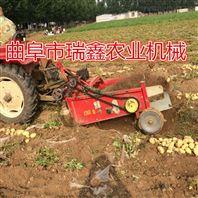 红薯收获机 红薯收获机规格 疯狂花生收货机
