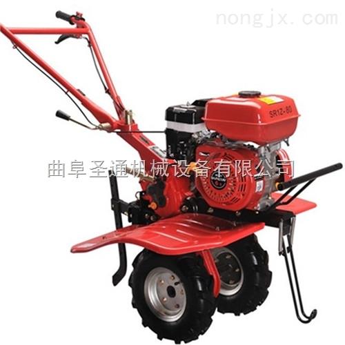 组合刀山区坡地耘锄机,自走式柴油/汽油微耕机