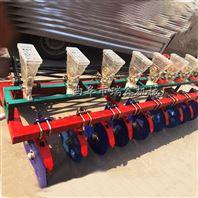 四輪拖拉機帶菠菜播種機 四輪谷子播種機 六行谷子播種機