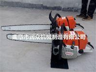 性能稳定的汽油链条式挖树机 低油耗大马力起树机