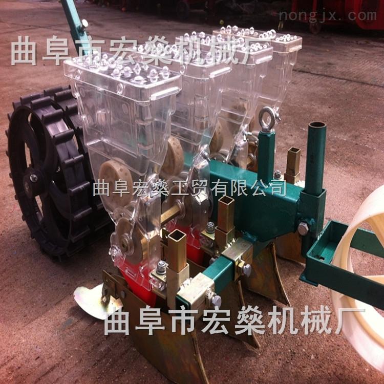 HS-陕西谷物蔬菜播种机 四轮车带高粱玉米精密播种机