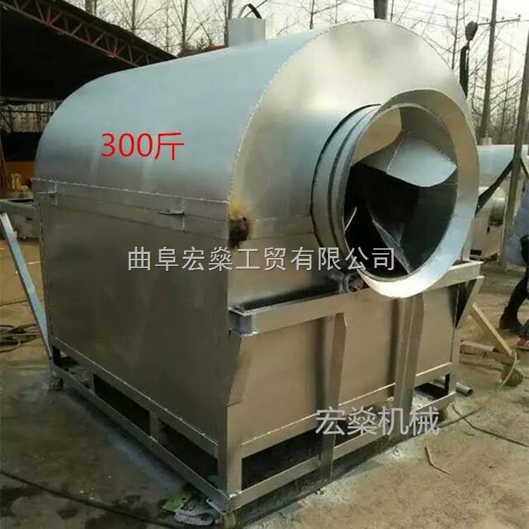 盐山县大型可烧煤花生瓜子炒货机 板栗炒货机必选机械