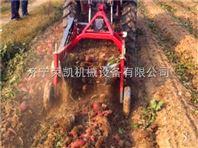 拖拉机后悬土豆收获机  单垄土豆红薯收获机