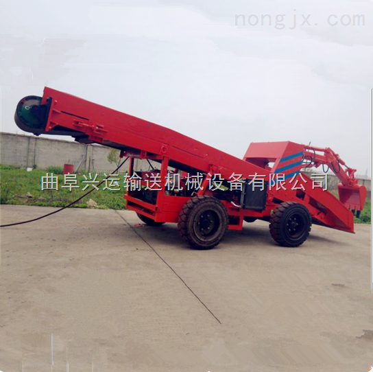 多功能裝運機,鏟運機,自走式扒料裝車機