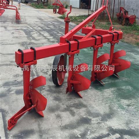 拖拉機三點懸掛帶的農田耕地機鏵式犁可以耕地的鏵犁1L-425