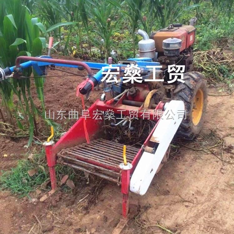 HS-马铃薯收获机 多功能土豆收获热卖机械