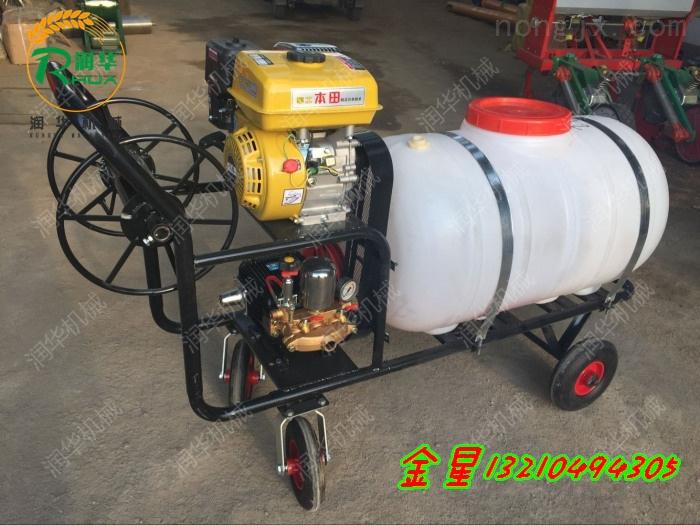 拉管式苹果园打药喷雾器 高压汽油式喷雾器价格