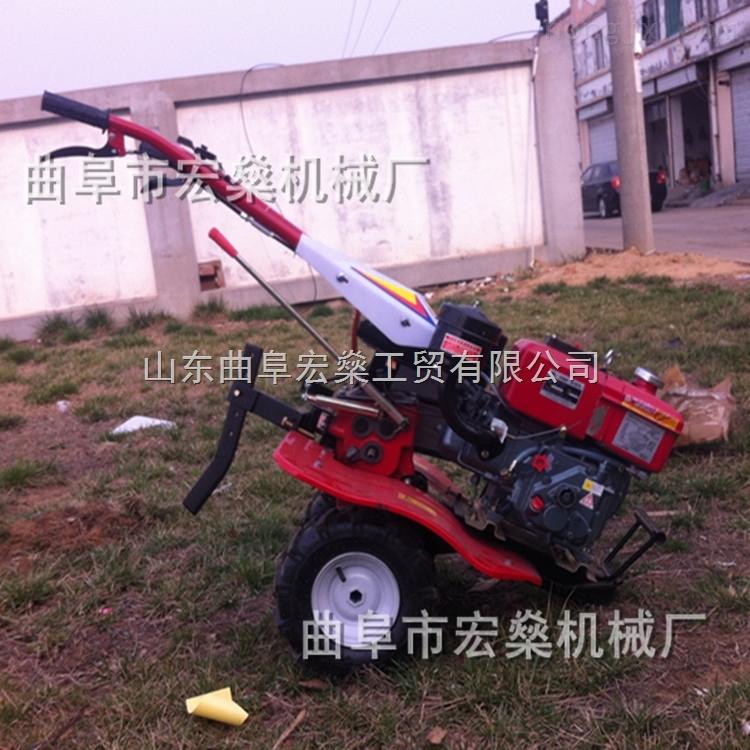 178小型手扶柴油微耕机 多功能微耕机 农用旋耕机