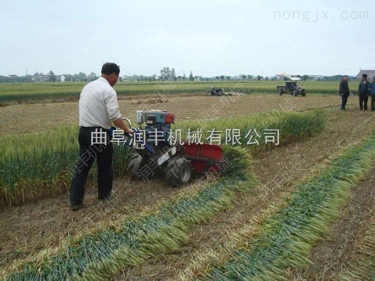 *新水稻割曬機 芸豆割曬機