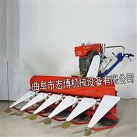 朝天椒割晒机价格 特殊地形专用手扶水稻收割机厂家