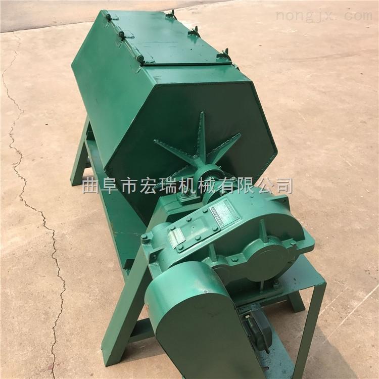 HR-200-六角滚筒抛光机图片 滚筒打磨抛光机 金属研磨机
