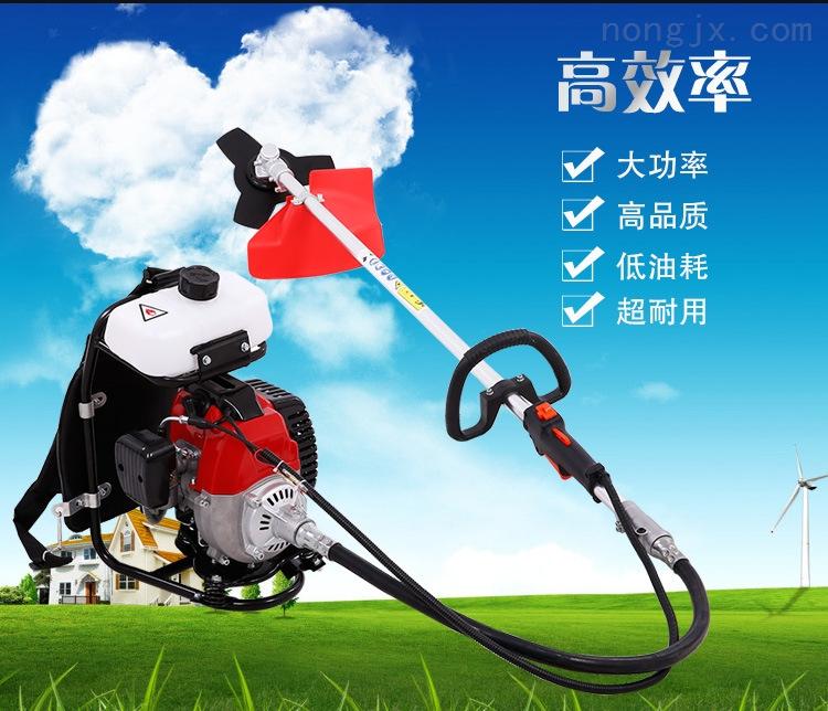 佳鑫汽油打草除草小型收割稻机草坪割灌机