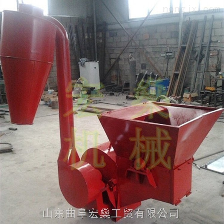 加工青饲料粉碎机械 多功能小型玉米秸秆粉碎机