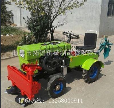 连城县田园管理小四轮拖拉机拓锐 单缸四轮农用拖拉机可悬挂旋耕机