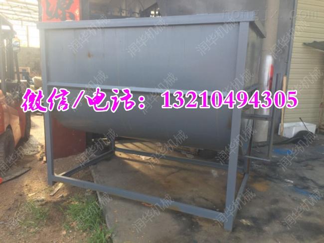 养殖业草料混合搅拌机 双轴拌青储混料机
