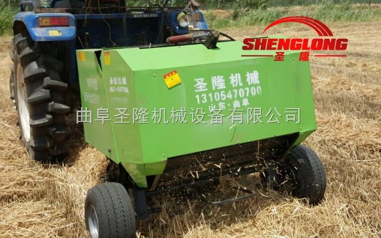 5080-黑龙江小型圆捆玉米秸秆打包机厂家