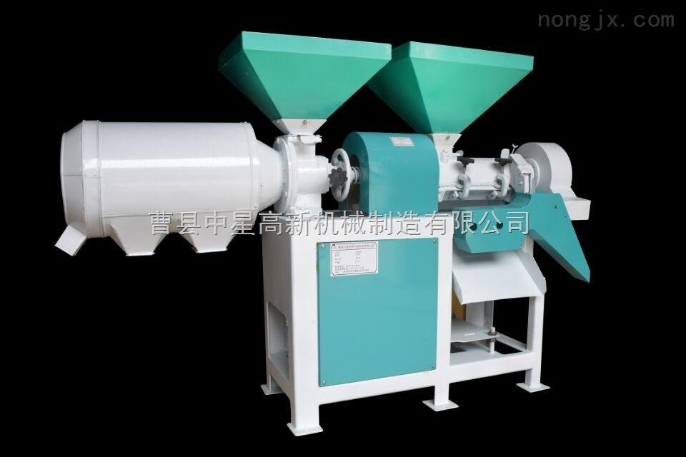 五谷杂粮加工设备 玉米压扁机器设备 玉米脱皮拉糁分体机 玉米磨面机设备
