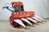 小型水稻收割机 自走式整齐侧铺放片机