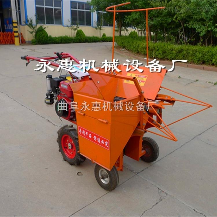 自走式掰玉米的機器 手扶車帶動玉米收割機