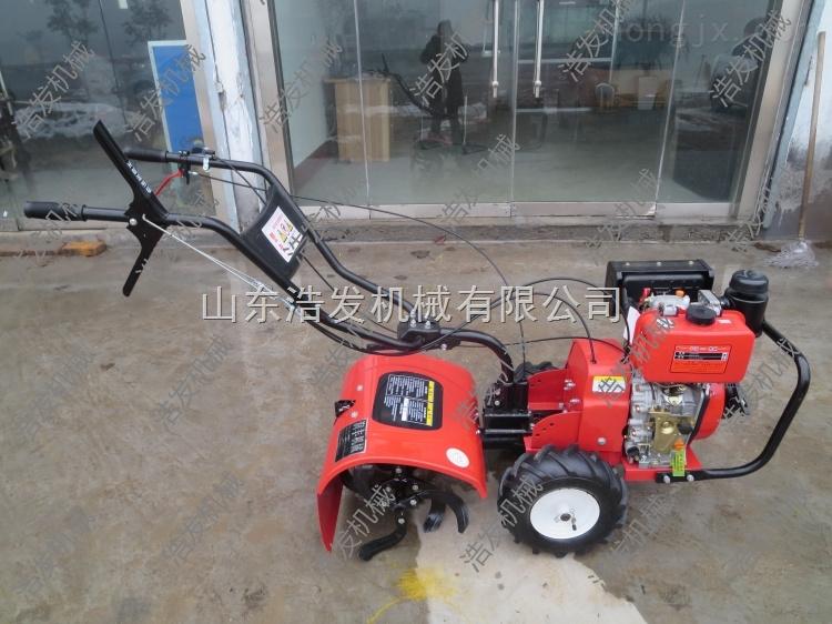 山区旋耕机 小型松土机 电动微耕机
