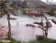 中山景区人造雾设备安装
