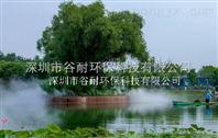 青海人工湖泊喷雾造景工程