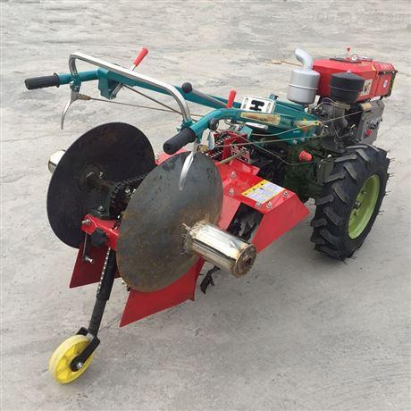20马力手扶拖拉机带的草莓起垄开沟机