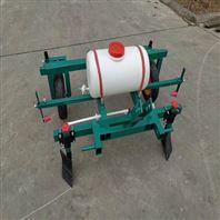 微耕机带喷药覆膜机蔬菜地膜覆盖机