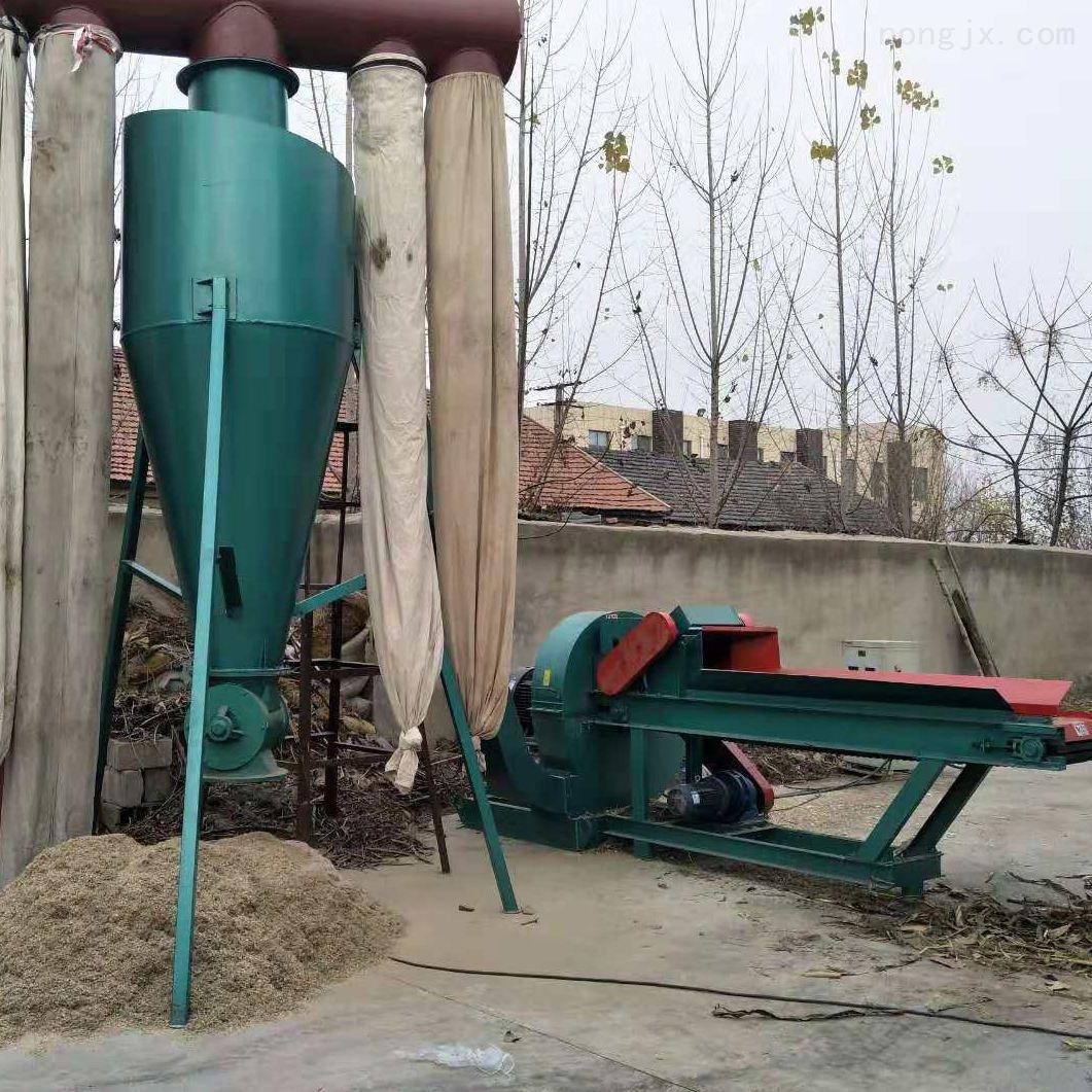 环保除尘秸秆粉碎破碎机组粉碎各种秸秆