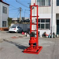 BK-简单折叠动力头钻机液压钻机冲抓锥