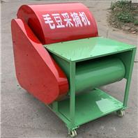 小型青毛豆采摘机 毛豆摘果机厂家润华机械