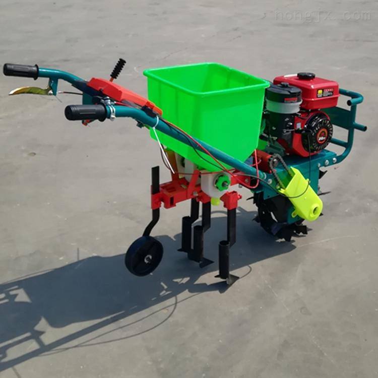 3行汽油大豆施肥播种机