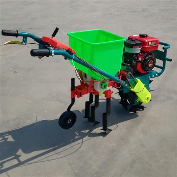 农用汽油1垄施肥播种机