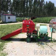 玉米秸稈壓塊包膜機 內蒙玉米草打包機
