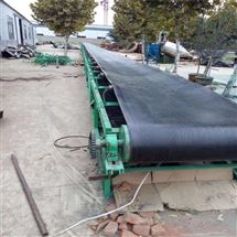 DY800U型槽石料帶式輸送機,干泥電滾筒傳送機