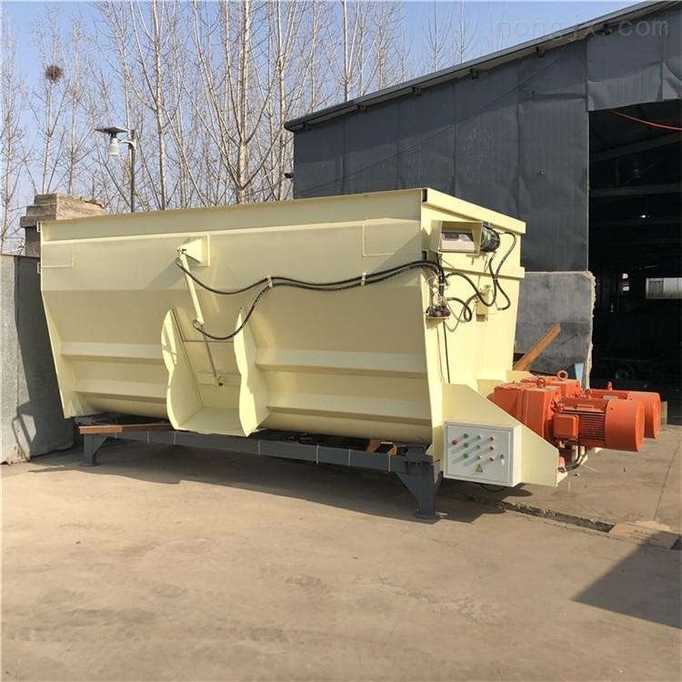 可称重的TMR饲料搅拌机 高效率养牛场拌草机