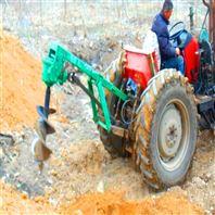 园林机械种植树苗机拖拉机带挖树坑机
