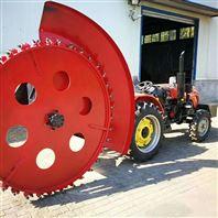 农业机械设备盘式链式开沟机施肥覆土一体机
