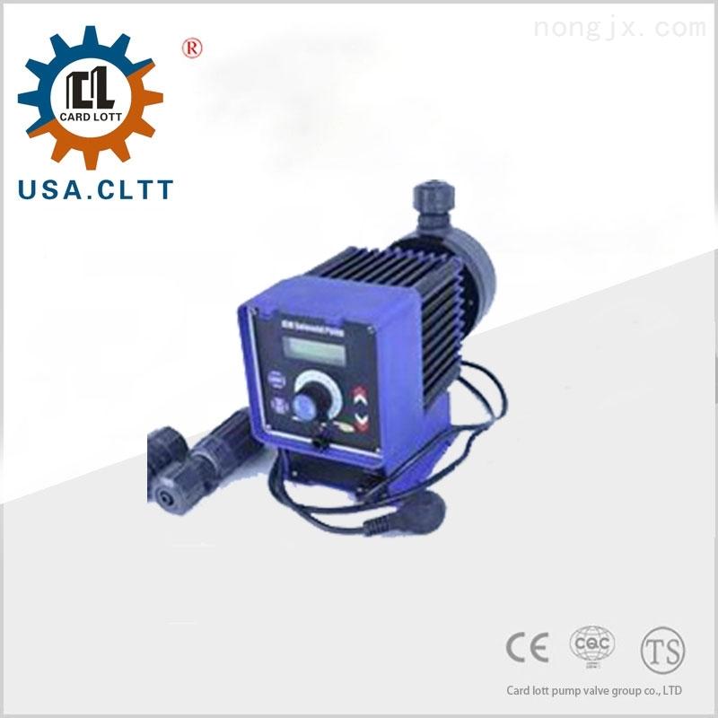 美国卡洛特进口电磁隔膜计量泵